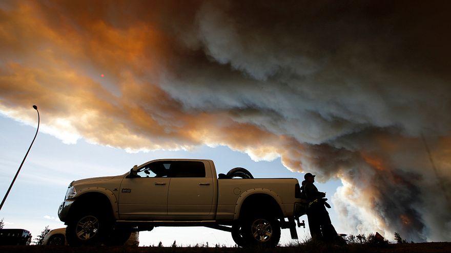 Площадь лесных пожаров в Канаде за сутки удвоилась