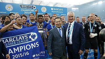 Leicester fans in Bangkok savor the historic victory