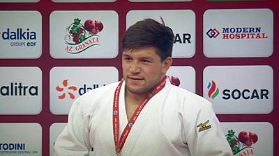 Gviniashvili and Nyman prevail at the Baku Grand Slam