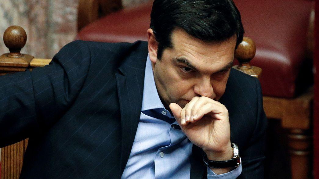 Le Parlement grec adopte une réforme des retraites à la veille de l'Eurogroupe
