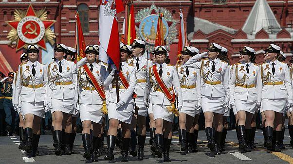 Russie : défilé militaire pour le 71ème anniversaire de la victoire de 1945
