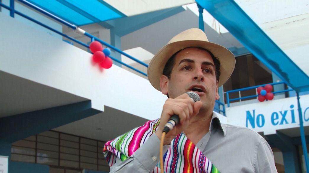 Peru'nun eğitim gönüllüsü: Juan Diego Florez