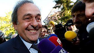 Platini quits as UEFA president