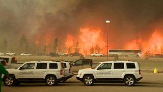 A kanadai bozóttűz miatt emelkedett a nyersolaj ára