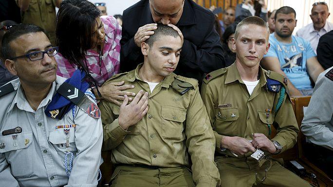 """انطلاق محاكمة الجندي الإسرائيلي الذي أجهز على فلسطيني خلال """"محاولة طعن"""""""