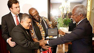 Kenyan and Malaysian win 2016 Cartooning for Peace Prize