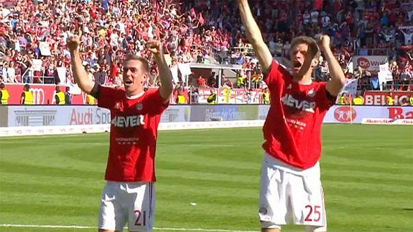 Bayern Munich and PSV crowned champions