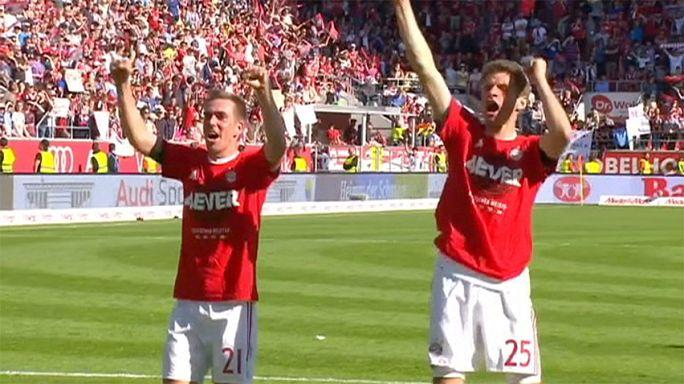 Sorozatban negyedszer bajnok a Bayern