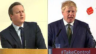 """""""За"""" или """"против"""" выхода Великобритании из ЕС: Кэмерон и Джонсон скрестили копья"""