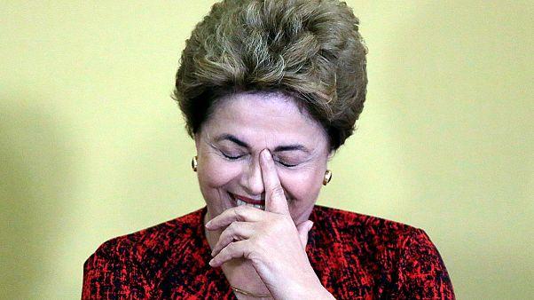 Brezilya'da Rousseff'in azledilme süreci askıya alındı