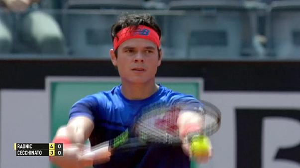 ATP Rome: Raonic to face Kyrgios in second round