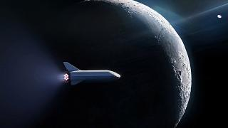Image: SpaceX's BFR launch vehicle