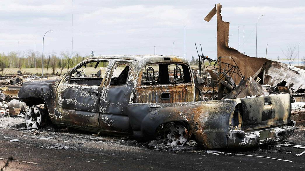 Canadá: Incêndio abranda em Alberta