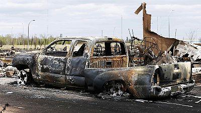 Aufatmen in Kanada: Waldbrände verschonen Großteil Fort McMurrays