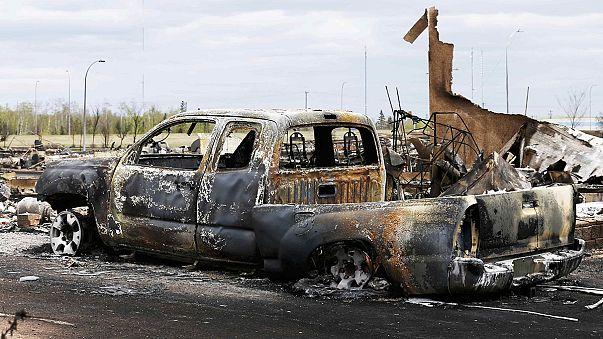 Kanada'nın batısındaki yangın kontrol altına alındı
