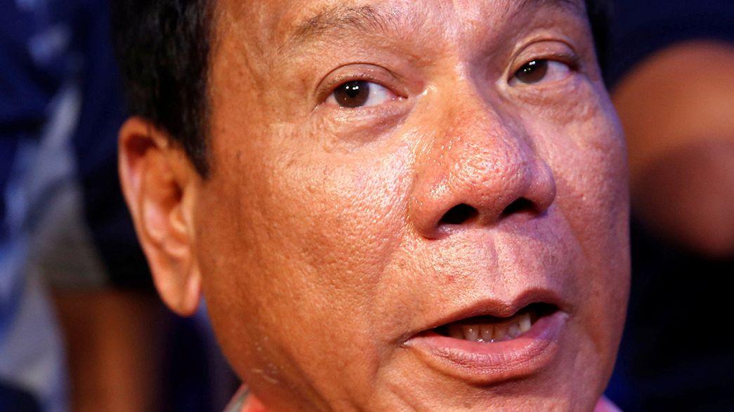 Filipinas:Rodrigo Duterte prestes a  tornar-se presidente  após  principal rival ter admitido  derrota