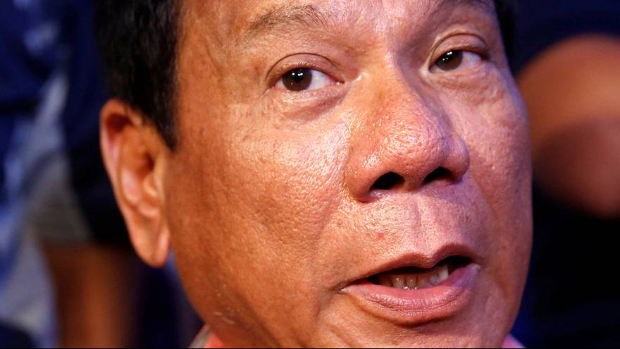 Duterte out in front in Philippine election