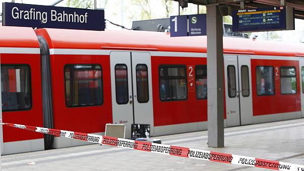 One dead after knife attack at German station