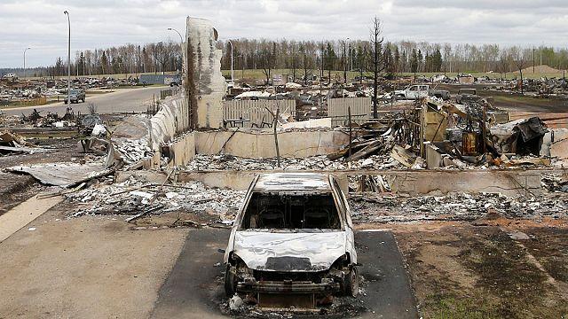 Kanada'da yangının ülkeye maliyeti 9 milyar dolar