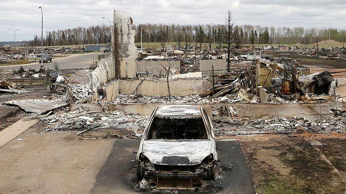 Fort McMurray sauvée des flammes à 90%, des cas de gastro-entérite
