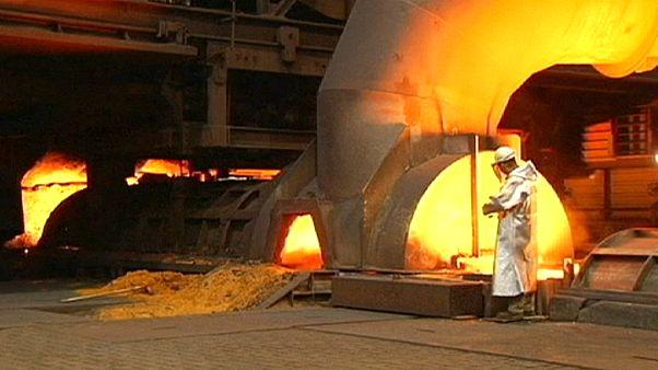 Romló kilátások a német acélóriásnál