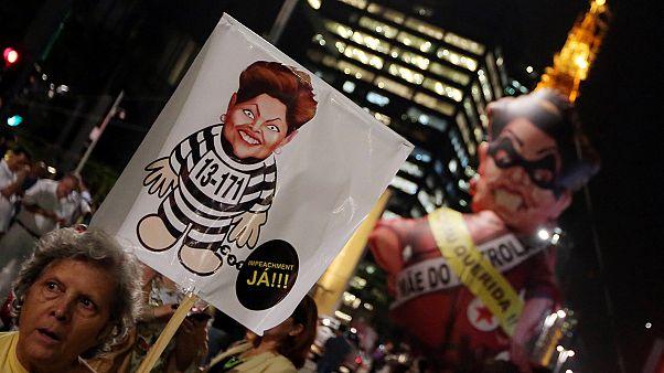 Brasil: el presidente de la Cámara Baja da marcha atrás y la destitución de Rousseff sigue adelante
