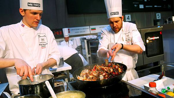 Mutfak olimpiyatları Bocuse d'Or Avrupa finalinde Türkiye, Mutlu Şevket Yılmaz'ın yemekleriyle yarışıyor