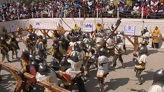 برگزاری مسابقات جهانی «جدال قرون وسطایی»