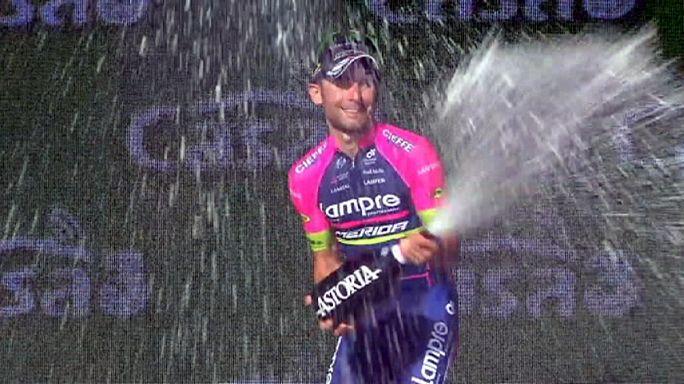 İtalya Bisiklet Turu: Dumoulin zirvedeki yerini geri aldı