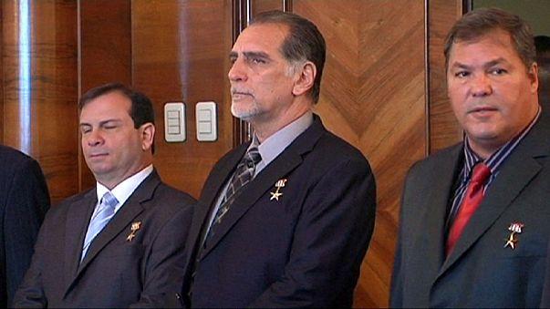 Russland empfängt kubanische Nationalhelden