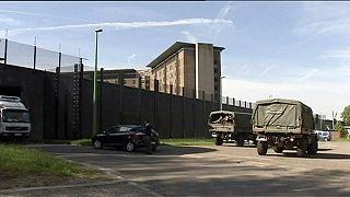 El Ejército belga entra en escena en la crisis de las prisiones
