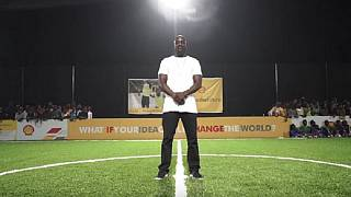 Akon, ambassadeur d'un projet de Shell sur les énergies renouvelables