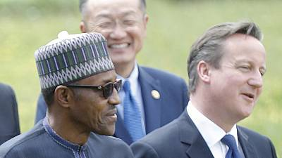 Buhari 'shocked' by Cameron's 'fantastically corrupt' remark about Nigeria