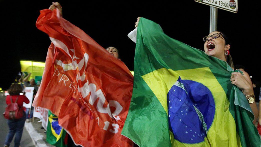 Auf gepackten Koffern: Rousseff sieht Suspendierung entgegen