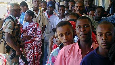 Comoros starts voting in partial presidential polls re-run