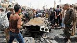 Carro armadilhado explode em Bagdade e faz várias dezenas de mortos e feridos