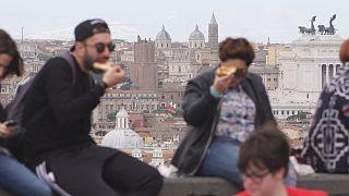 Uma em cada três crianças sofre de obesidade em Itália