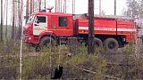 Incendi nella regione russa di Amur