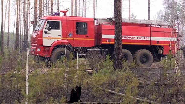 Russian forest fires