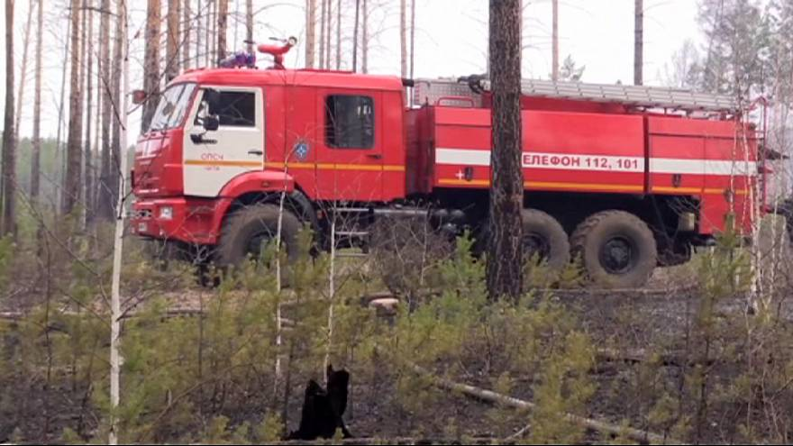 حریق در جنگلهای روسیه