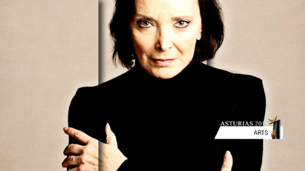 Asturias Prensliği 2016 Sanat Dalı ödülü İspanyol oyuncu Nuria Espert'in oldu