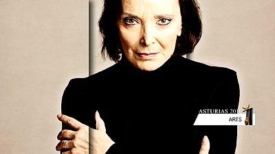 L'Espagnole Núria Espert, Prix Princesse des Asturies des Arts 2016
