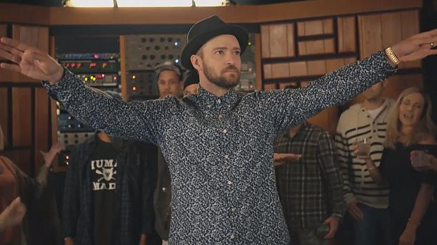 Justin Timberlake goes for the summer sound with Can't Stop the Feeling