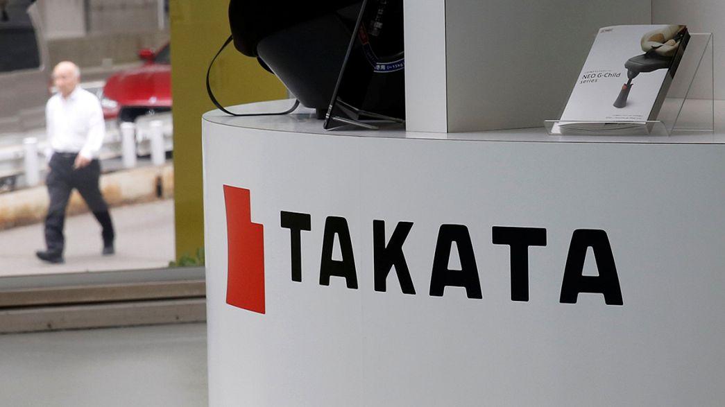 Harter Aufprall für Airbag-Firma Takata