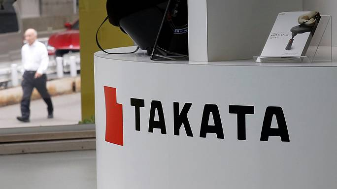 Airbag recall costs push Takata to an annual loss again