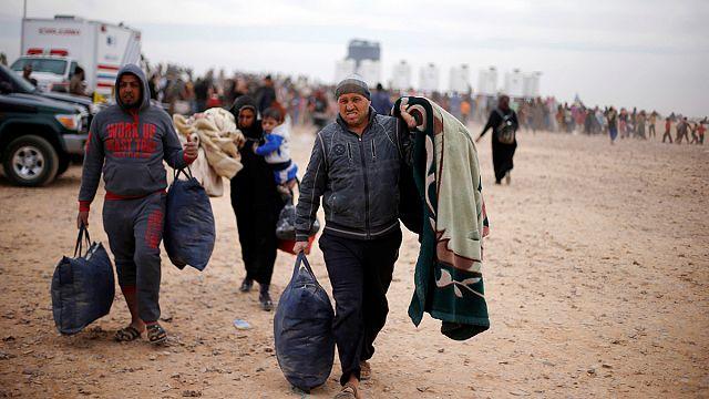أربعون مليون شخص عدد النازحين واللاجئين في العام 2015