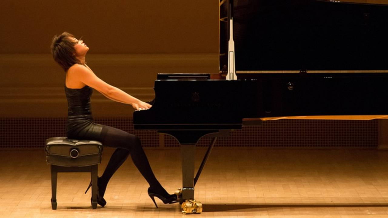 Yuja Wang plays Brahms, Schumann and Beethoven