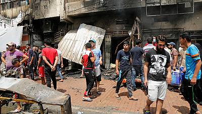 Baghdad rocked by a series of car bombs