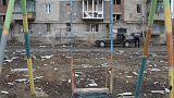 Ukrajnai háború: tízezer halott, másfél millió menekülő