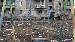 The conflict in Ukraine between its army and pro-Russian rebels